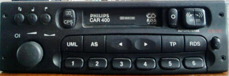 Philips Car 400 Инструкция