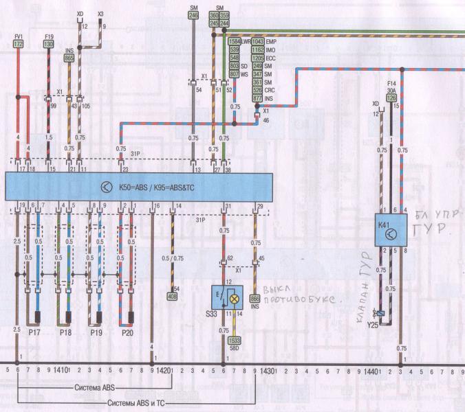K14 - реле системы